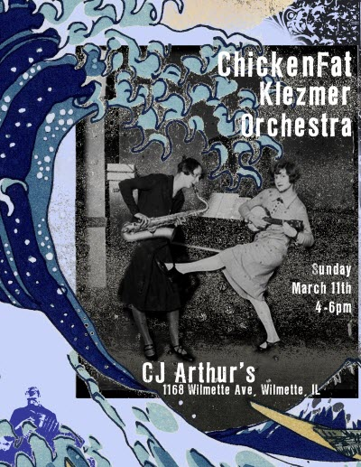 Chicken Fat Orchestra at CJ Arthurs