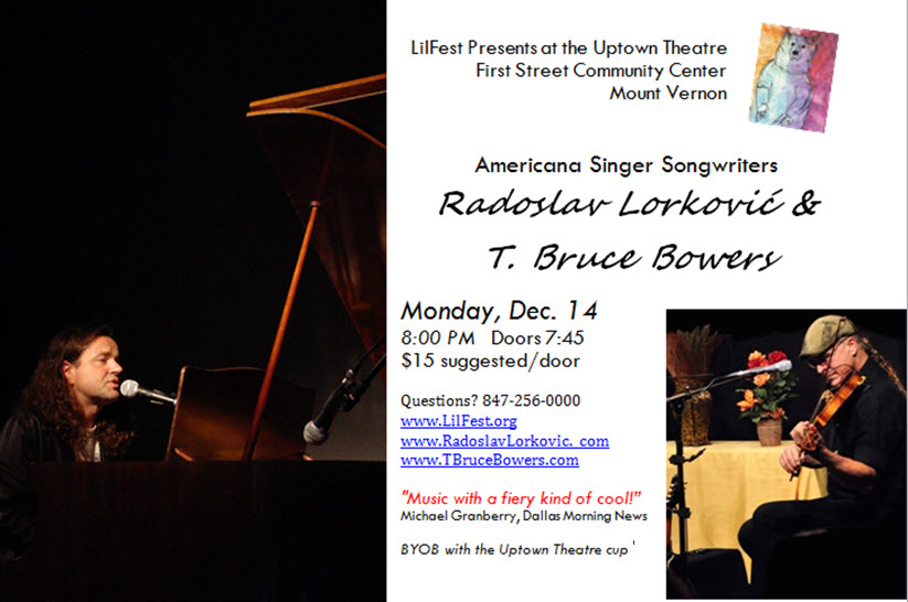 Lilfest Presents Lorkovic and Bowers