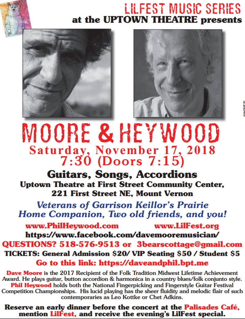 Moore and Heywood Lilfest